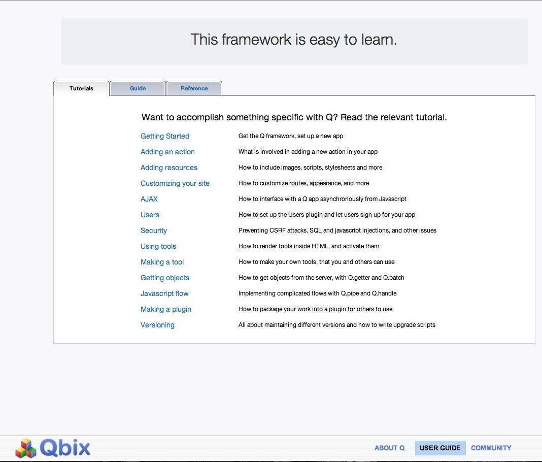 Q Framework Guide